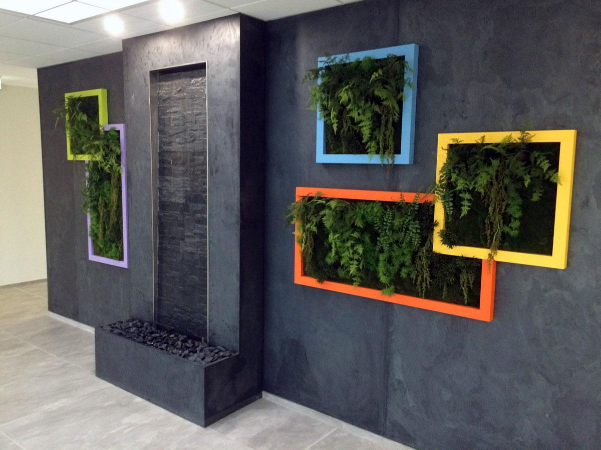 Plantes Pour Tableau Végétal Intérieur murs végétaux - hydrodécor
