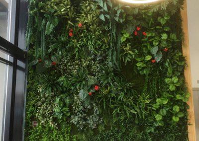 Mur végétal - Plantes artificielles